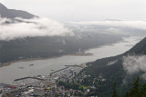 Juneau and Gastineau Channel from Mount Roberts