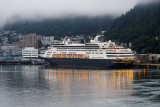 Holland America Line ship Statendam docked in Juneau