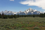 Middle Teton, Grand Teton, Teewinot Mountain, Rockchuck Peak, Mount Woodring, Mount Moran
