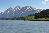 South Teton, Middle Teton, Grand Teton, Teewinot Mountain