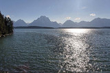 Grand Teton Mountains, from Colter Bay