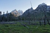 Teewinot Mountain, Grand Teton, Mount Owen, Mount St John and Rockchuck Peak
