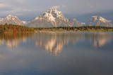 Teton Range, from Jackson Lake Dam