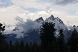 The Tetons, after the storm