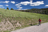 Cycling in the National Elk Refuge