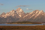 Middle Teton, Grand Teton, Teewinot Mountain, Rockchuck Peak