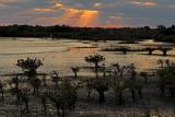 Sunset on the Merritt Island NWR