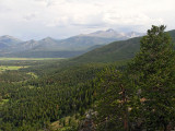 From Many Parks Curve on Trail Ridge Road