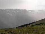 Bad weather at 12,000 feet