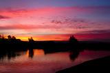 Sunset at Shoreline Lake