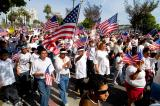 California - Los Angeles - A Day Without an Immigrant Rally