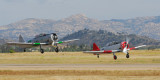 Classic Fighters of America - Formation Flying Clinic - Ramona - June '09