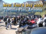New Year's Day 2009 Ride to Tortilla Flat, AZ