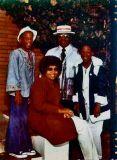 Betty, Julius, Sheila & Mark1973