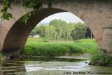 The bridge over the Arroux