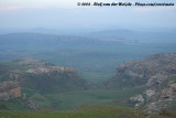Roughs mountains of the Drakensberg Escarpment