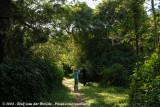 José & Daan birding in the coastal forest