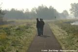 Daan and Rick birding at the Big Birding Day