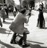 photographers,street musicians,artists