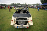 classic  and other cars included at the steam engine rally Stradbally, County Laois