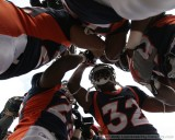 Inside the Denver Broncos' huddle