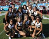 University of Colorado cheerleaders
