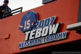 Florida Gators QB Tim Tebow - 2007 Heisman Trophy winner