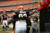 Cleveland Browns defensive tackle Shaun Rogers