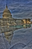 The Capitol and its reflection in HDR