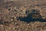 Aerial of Oakland, CA