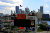 Heinz Field  and downtown Pittburgh