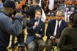 CBS announcers Kevin Harlan & Clark Kellogg