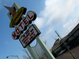 Lorraine Motel in Memphis - place where Martin Luther King, Jr. was assassinated
