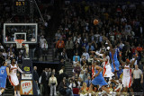 Oklahoma City Thunder's Jeff Green hits the game-winning shot with less than a second left