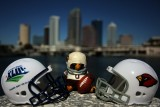 NFL Huddles: Arizona Cardinals figure at Super Bowl XLIII in Tampa, Florida
