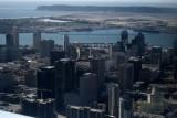 Aerial of San Diego, California
