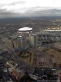 Georgia Dome, CNN headquarters and Centennial Olympic Park - Atlanta, Georgia