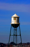 View of Hayward water tower from my balcony