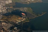 Aerial photo of Candlestick Park
