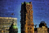 Reflection of St. Louis' Old Courthouse