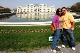 Me & Bethany in front of Belvedere Palace