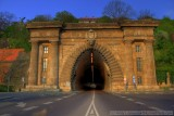 Tunnel to the Castle District in HDR