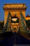 Budapest's Chain Bridge in HDR