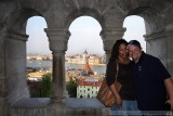 Me & Bethany in front of Budapest's Parliment