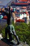 Statue in the Citadella