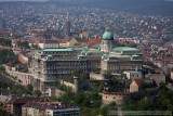 View of Buda Castle from the Citadella
