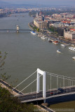 View of Budapest from the Citadella