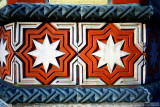Tiles from the Jewish Synagogue