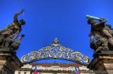Prague Castle Gate in HDR