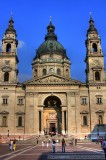Budapest's St. Stephen's Bascilica in HDR